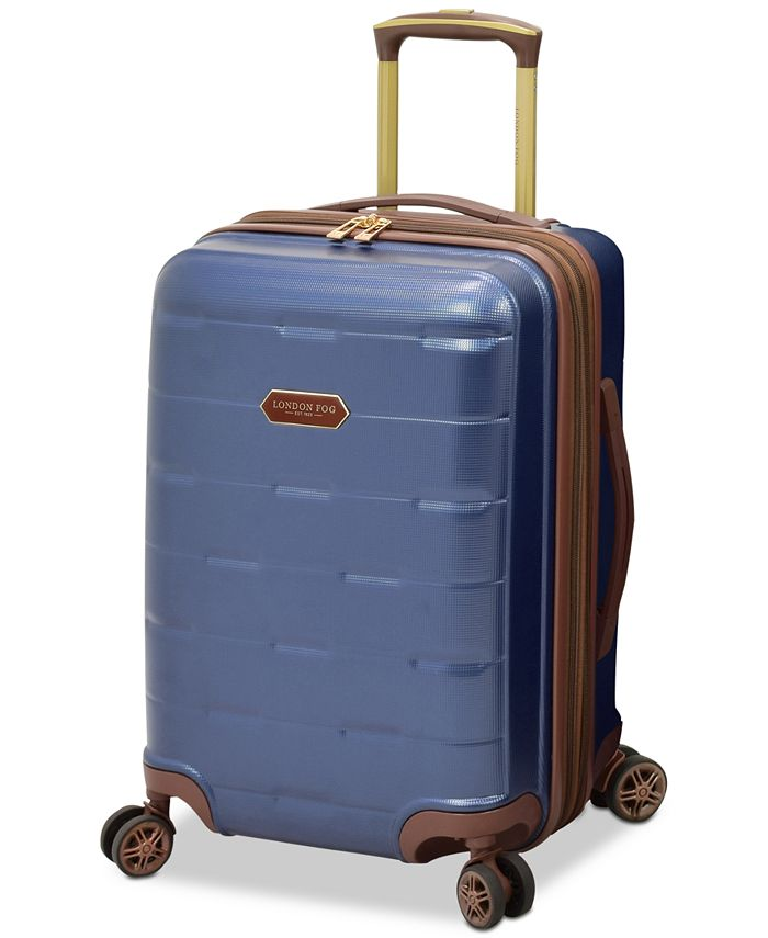 "London Fog - Brentwood 20"" Hardside Carry-On Spinner Suitcase"