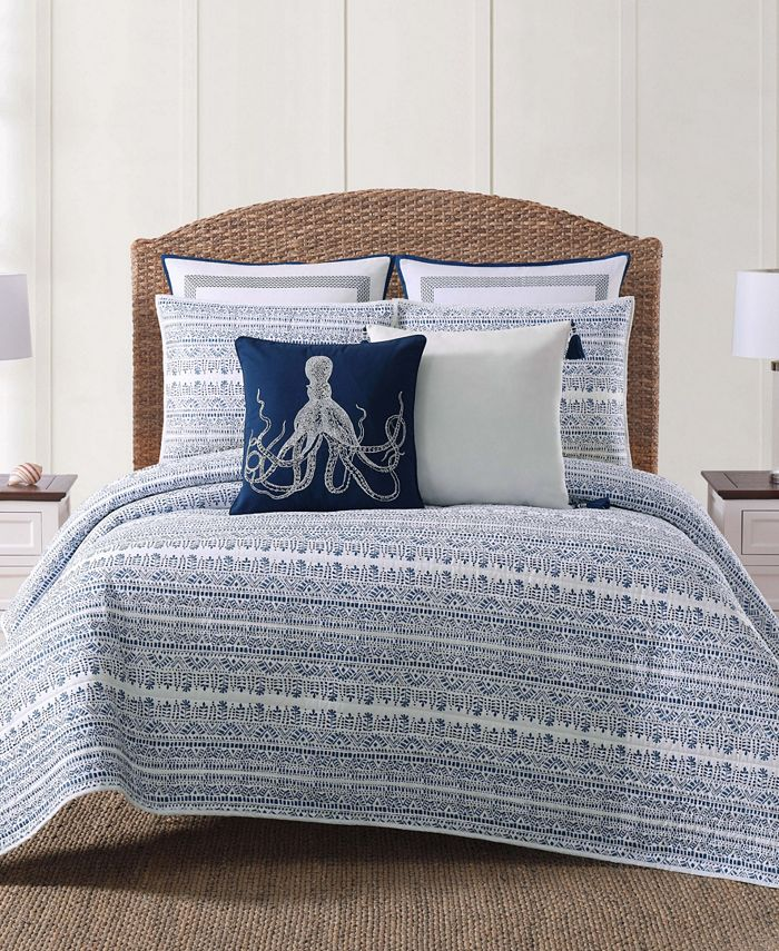 Oceanfront Resort - Reef Blue King Quilt Set
