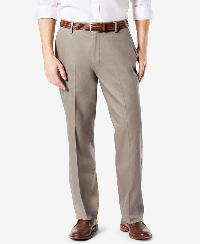 Dockers - Men's Pleated Signature Khaki Stretch Pants