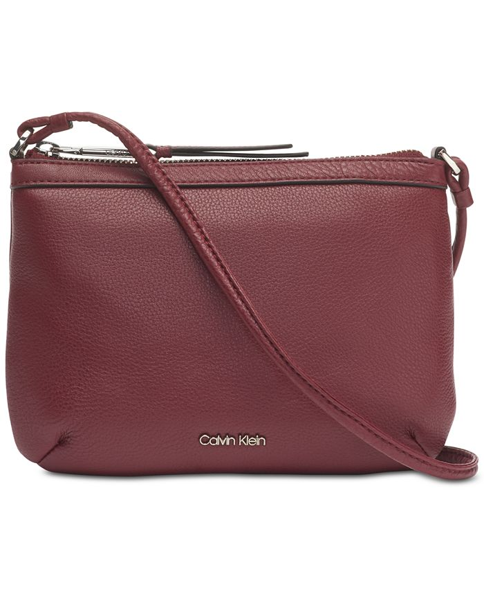 Calvin Klein - Key Items Pebble Leather Crossbody