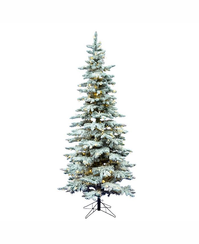 Vickerman - 9' FLOCKED UTICA FIR