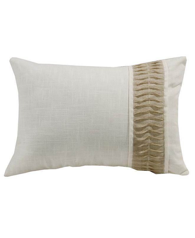 HiEnd Accents White Linen 16x24 Pillow