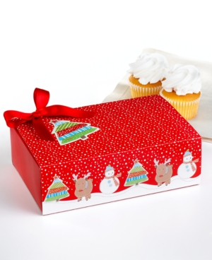 Martha Stewart Collection Holiday Treat Boxes, Set of 3 Matchstick