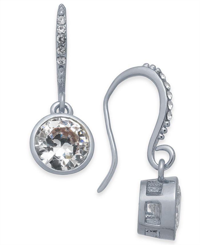 Alfani - Gold-Tone Crystal Drop Earrings
