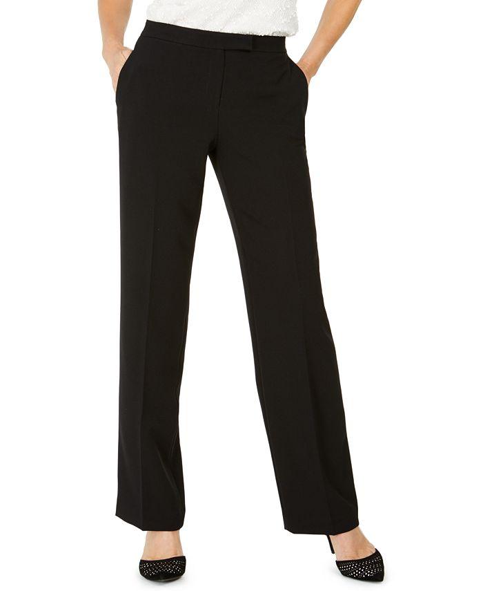 Kasper - Tab-Waist Trouser Pants