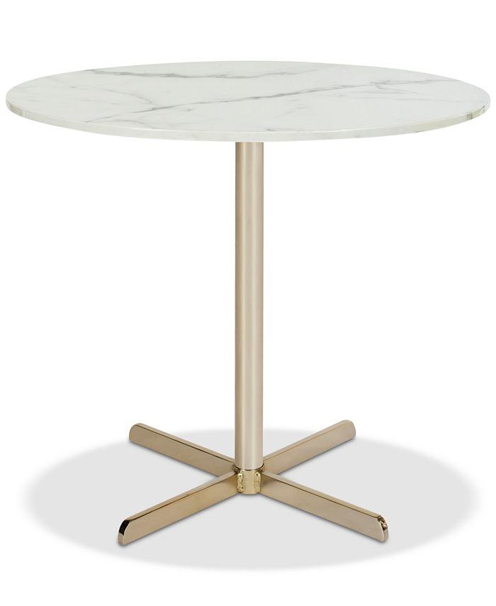 Safavieh - Winnie Round Side Table, Quick Ship