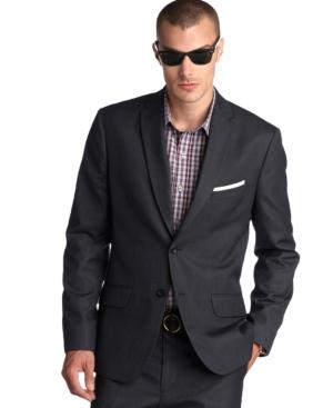 AJ Izod Jacket, Slim Fit Blazer