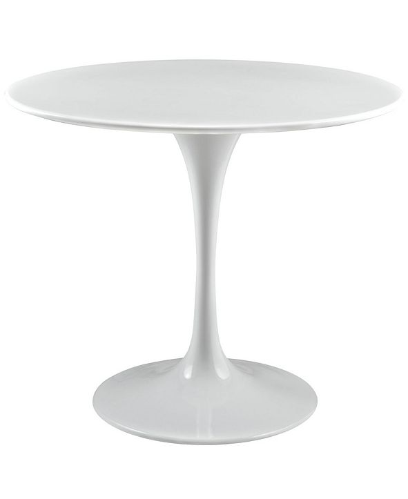 """Modway Lippa 36"""" Round Wood Top Dining Table"""