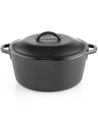 Lodge Logic Cast Iron 5 Qt. Covered Dutch Oven