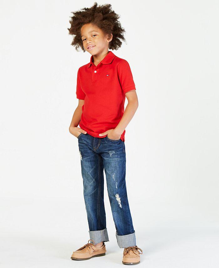 Big Boys Ivy Stretch Polo Shirt