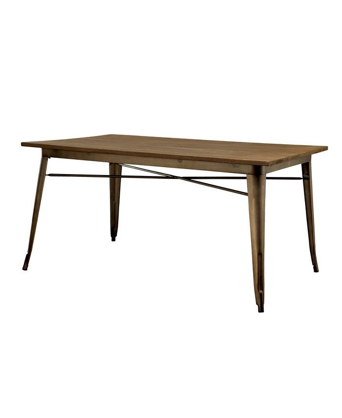 Furniture of America - Mayfield Dining Table, Quick Ship