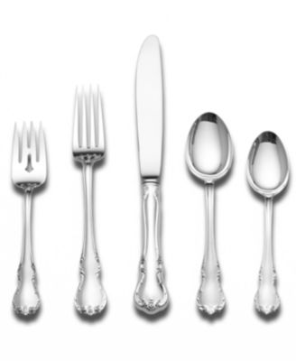 Towle Sterling Silver Flatware, French Provincial 5 Piece Place Setting