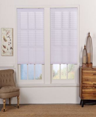 Cordless Light Filtering Pleated Shade, 20x72