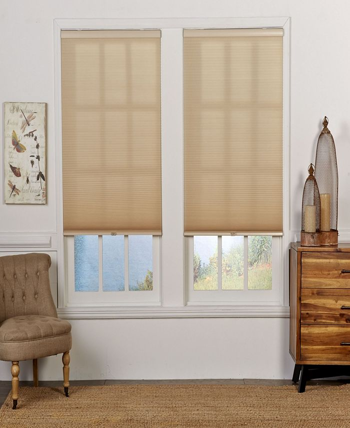 The Cordless Collection - Cordless Light Filtering Double Cellular Shade, 27.5x72