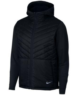 AeroLayer Hooded Running Jacket
