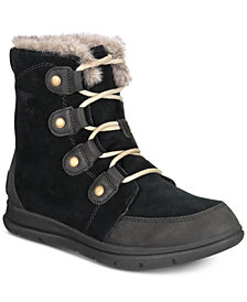 Sorel Women's Explorer Joan Lug Sole Waterproof Booties