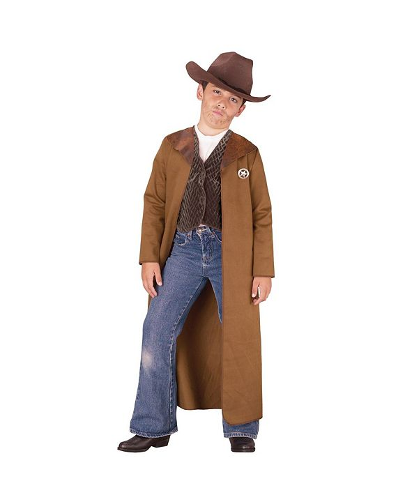 BuySeasons Old West Sheriff Little and Big Boys Costume