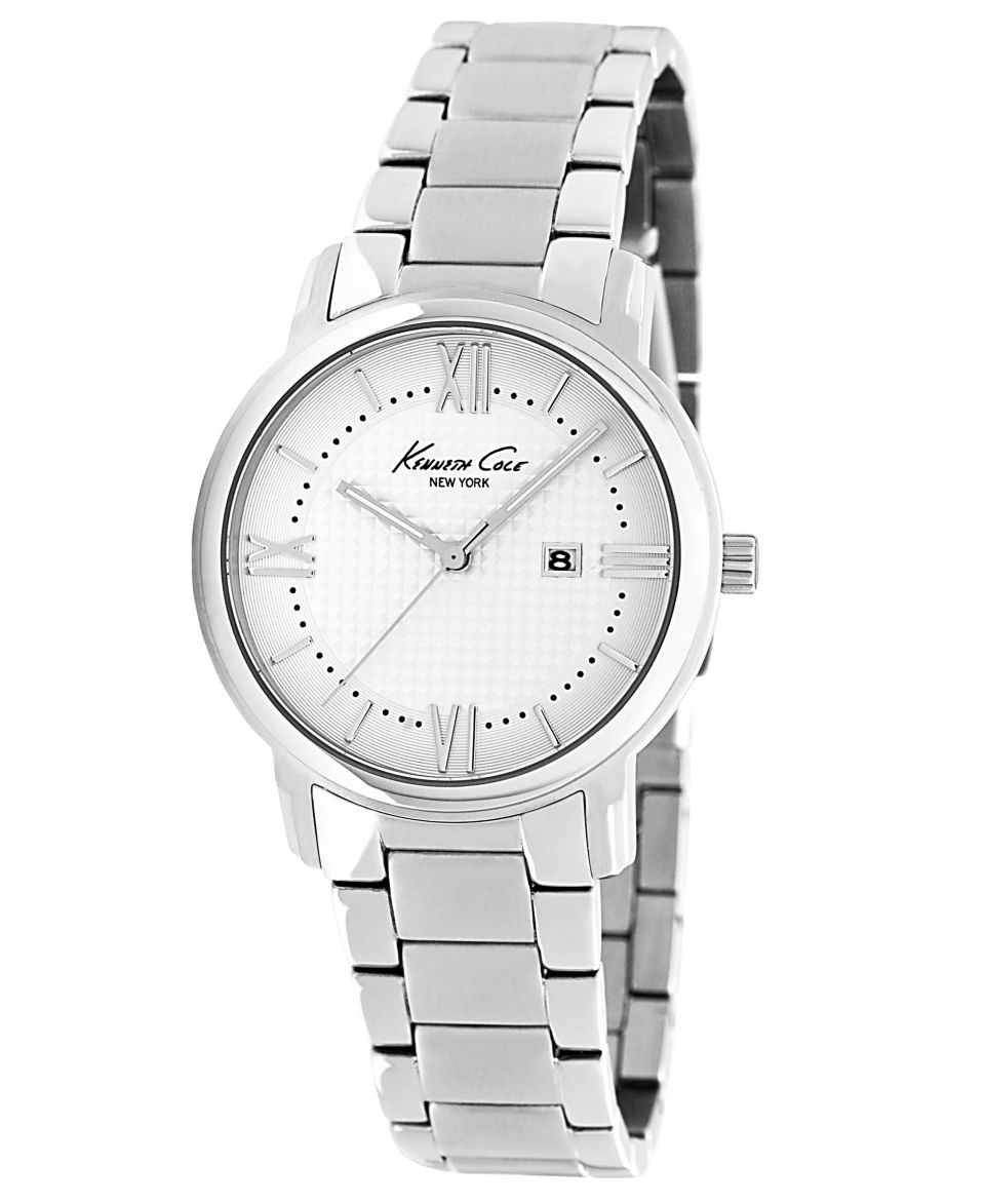 Kenneth Cole New York Watch, Womens Stainless Steel Bracelet 35mm KC4772   Watches   Jewelry & Watches