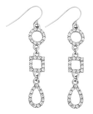 Lauren by Ralph Lauren Earrings, Geometric Linear Drop Earrings