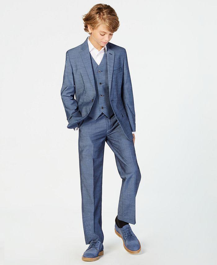 Calvin Klein - Plain-Weave Jacket, Big Boys