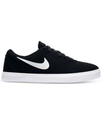 Nike Boys' SB Check Canvas
