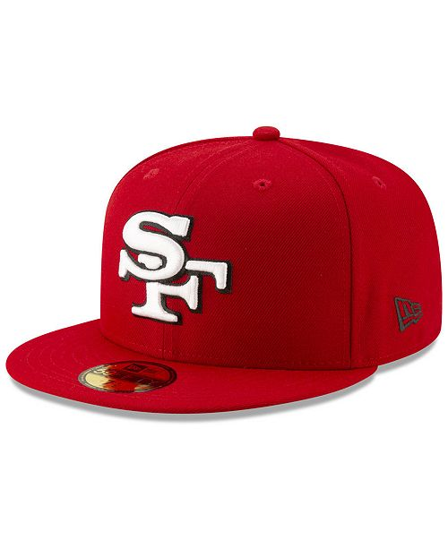 New Era San Francisco 49ers Logo Elements Collection 59fifty Fitted Cap Reviews Sports Fan Shop By Lids Men Macy S