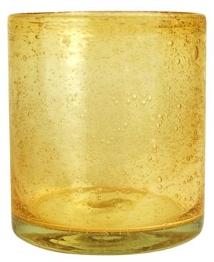 Artland Glassware, Iris Citrine Double Old Fashioned Glass