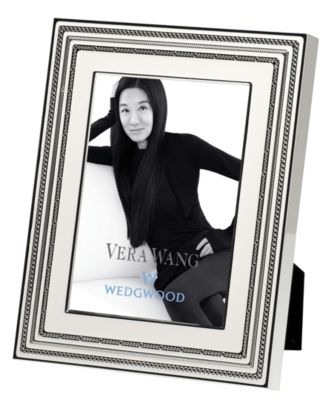 "Vera Wang Wedgwood Picture Frame, With Love 5"" x 7"""