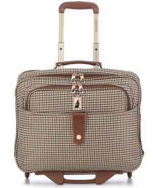 London Fog Rolling Computer Bag, Chelsea Lites 360 Laptop Friendly Business Case