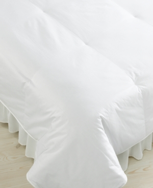Blue Ridge Bedding, 450 Thread Count Cotton Sateen Down Twin Comforter Bedding