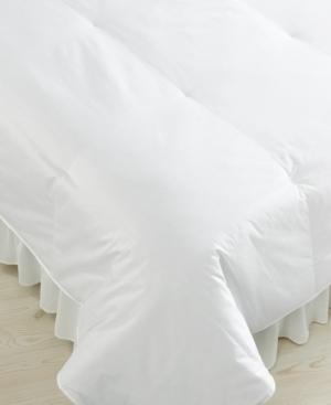 Blue Ridge Bedding, 450 Thread Count Cotton Sateen Down Twin Comforter Bedding