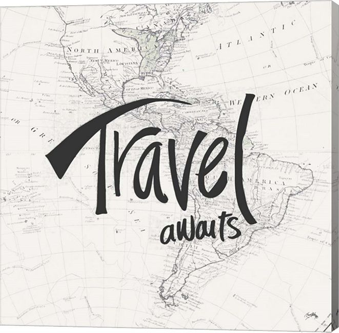 Metaverse Travel Awaits By Elizabeth Medley Canvas Art