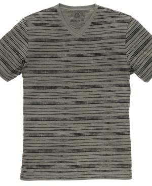 American Rag T Shirt, Short-Sleeved Striped Shirt