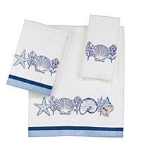 Avanti Nassau Embroidered Fingertip Towel