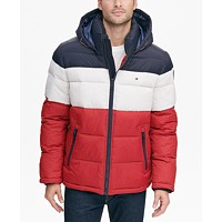 Deals on Tommy Hilfiger Mens Quilted Puffer Jacket