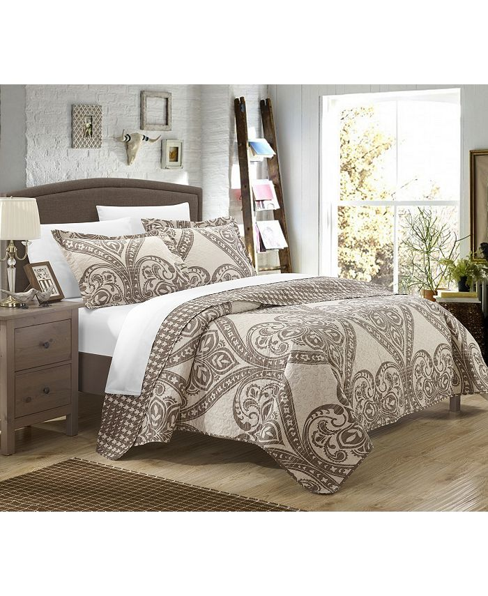 Chic Home - Napoli 7-Pc. Bed in a Bag Quilt Sets