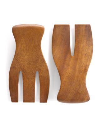 The Cellar Acacia Wood Salad Hands