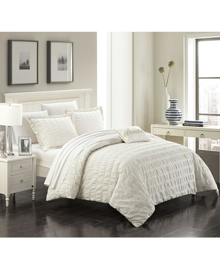 Chic Home - Millbury 4-Pc. Duvet Cover Sets