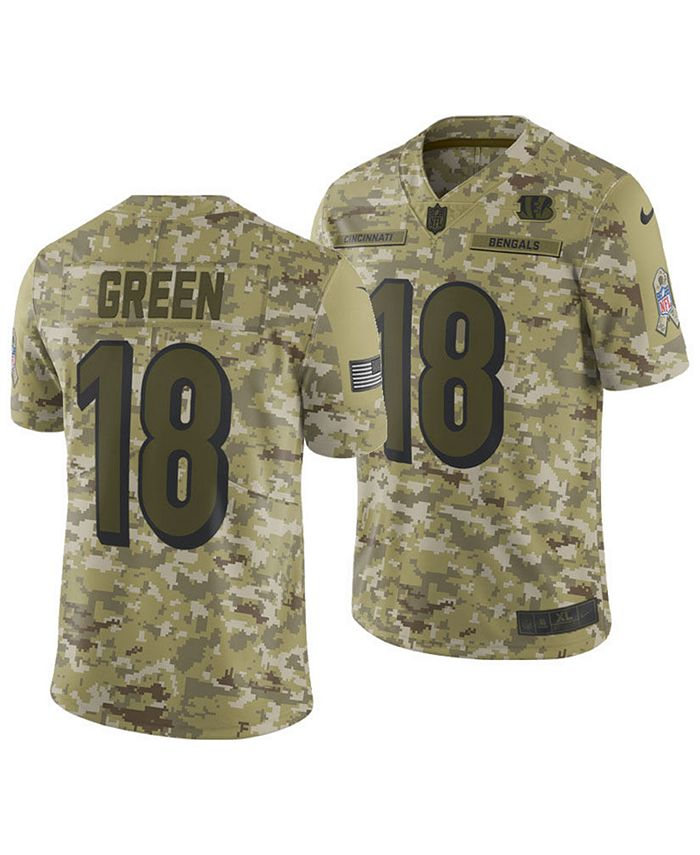 Nike Men's A.J. Green Cincinnati Bengals Salute To Service Jersey ...