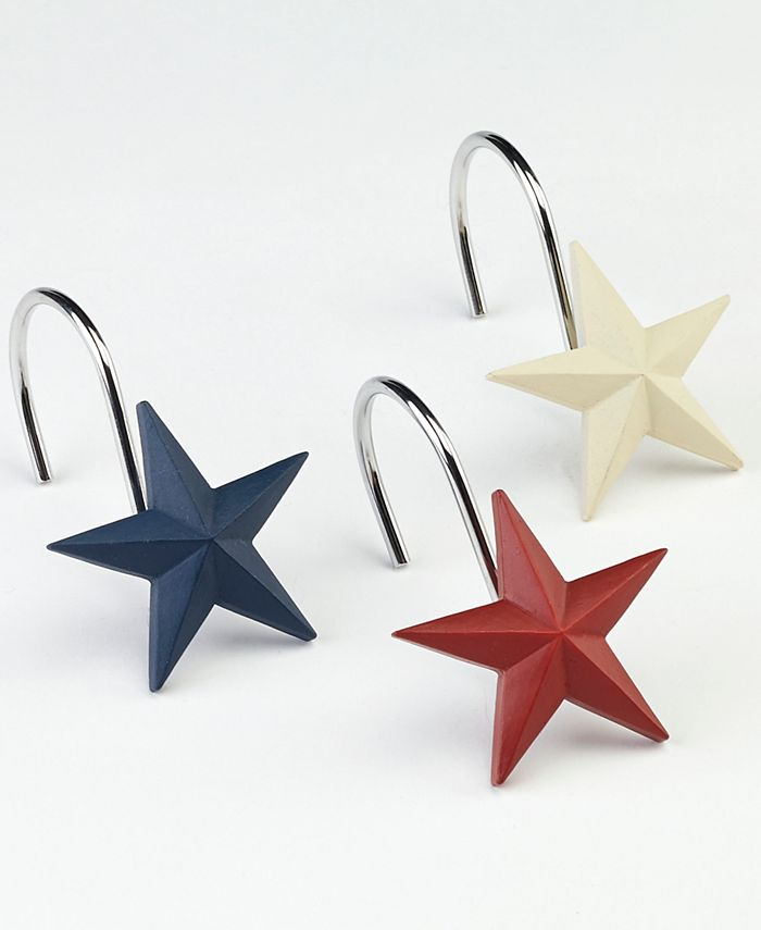 Avanti - Texas Star Shower Hooks