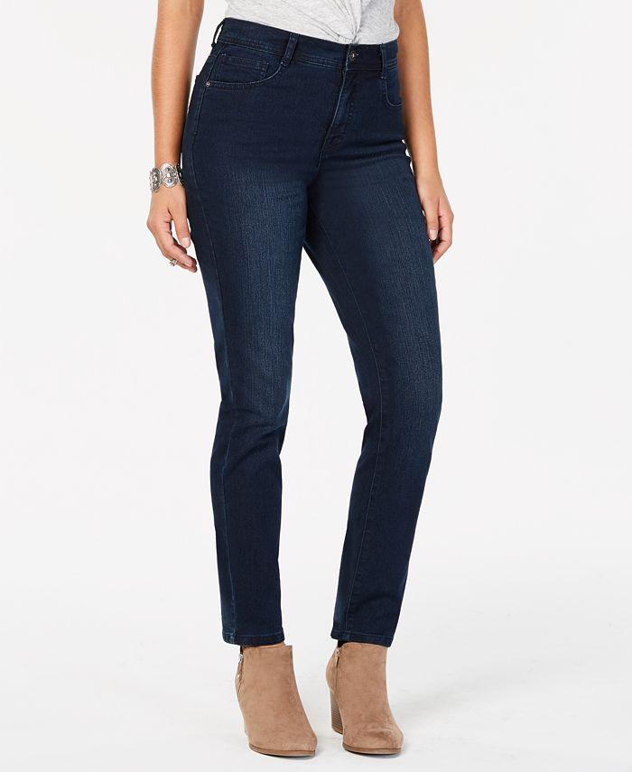 Style & Co - Tummy-Control Slim-Leg Jeans