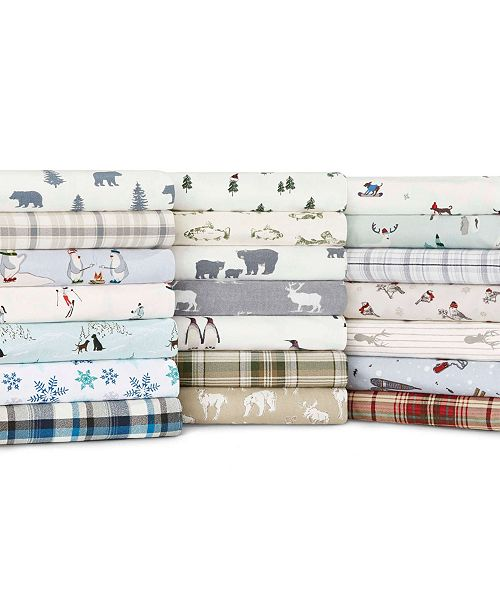 Eddie Bauer Flannel Sheet Sets Reviews Home Macy S