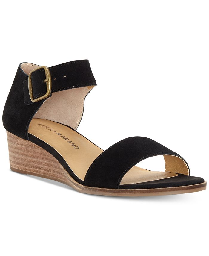 Lucky Brand - Women's Riamsee Wedge Sandals