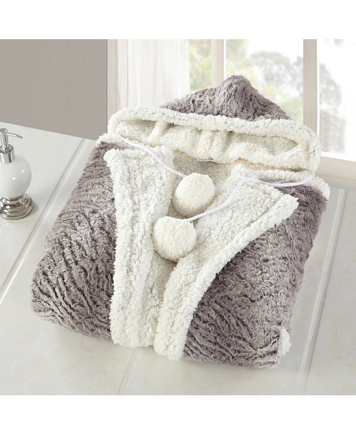 Chic Home - Meirav 1-Pc. 51x71 Hooded Snuggle