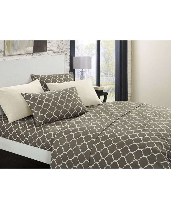 Chic Home - Illusion 6-Pc. Queen Sheet Set