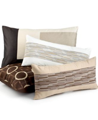"""CLOSEOUT! Hotel Collection Bedding, Pieced Panel 14"""" x 24"""" Decorative Pillow"""