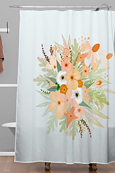 Deny Designs Iveta Abolina Ada Garden III Shower Curtain