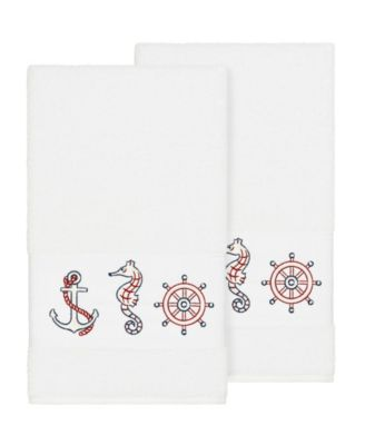 Turkish Cotton Easton Embellished Washcloth