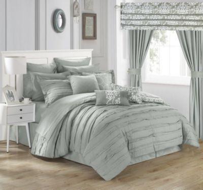 Hailee 24-Pc Queen Comforter Set