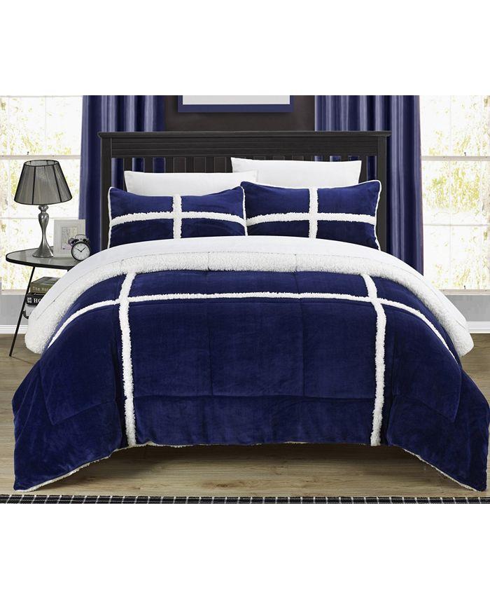 Chic Home - Chloe 3-Pc. King Comforter Set